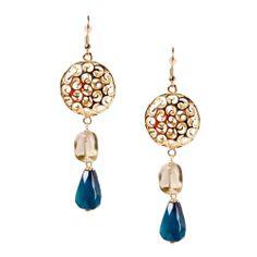 MLA - Margaret Lavish Accessories - Celestria Double Drop Earrings, $40.00 (http://margaretlavish.com/jewelry/earrings/celestria-double-drop-earrings/)