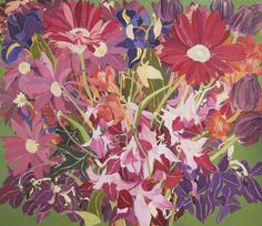 A New Day, A New Month 66in x 76in by Helen Lucas