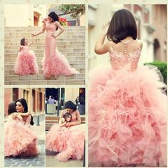 Cheap gown silk, Buy Quality dress shirt neck extenders directly from China gown dress up Suppliers:   New Arrival Pink Children Flower Girl Dresses Bow Sash Beaded Appliques Tulle Ball Gown Flower