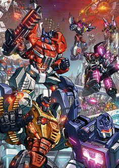 Fall of Cybertron fan art by GoddessMechanic.deviantart.com on @deviantART