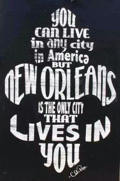 New Orleans...I wanna move.