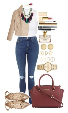 """""""Untitled #1232"""" by fabianarveloc on Polyvore featuring Topshop, T By Alexander Wang, Rosantica, Valentino, MICHAEL Michael Kors, Tory Burch, Forever 21, Marc by Marc Jacobs, Dolce&Gabbana and MAC Cosmetics"""