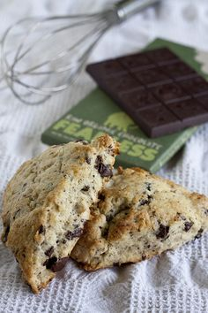 Chocolate-Coconut Scones by protogarrett, via Flickr Anyone who makes scones with fearless chocolate is okay in my book. ;)