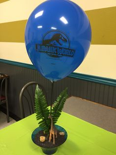 Party center pieces for Jurassic Park