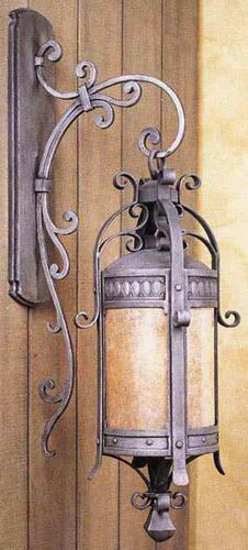 Chateau Hand-forged iron works of art. Hand-crafted by the distinguished company… Chateau Hand-forged iron works of art. Hand-crafted by the distinguished company of Hammerton. Also available in large size