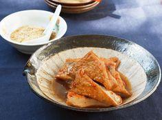 栗原はるみさんのとっておきレシピ | 厚揚げのピリ辛煮