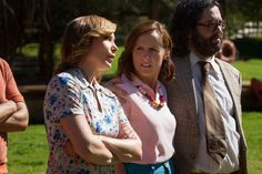 Nina Hellman, Molly Shannon, and Judah Friedlander in 'Wet Hot American Summer.'