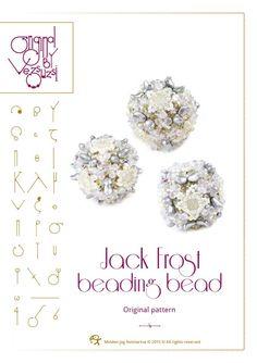 Bördeln Anleitung / Muster Jack Frost Beaded Bead Pattern mit zwei Linsen Perlen mit Loch – PDF-Anleitung für den persönlichen Gebrauch von beadsbyvezsuzsi auf Etsy https://www.etsy.com/de/listing/262562312/bordeln-anleitung-muster-jack-frost