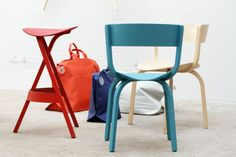 The unique barstool 404 H - Thonet - Chairs, Armchairs, Sofas, Classics, Tables, designer furniture