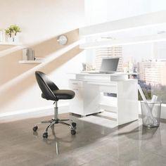 Schreibtisch in Weiß: hochwertig und modern