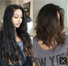 46 Lovely Bob Hairstyles You Will Love Rightaway - Frisuren/Make Up & Co , Short Haircuts Shoulder Length, Long Bob Haircuts, Short Hair Cuts, Haircut Bob, Long To Short Hair, Haircut Short, Round Face Haircuts Long, Thick Shoulder Length Hair, Lob Haircut Thick Hair