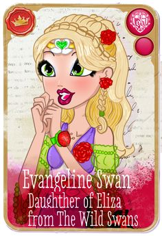 Ever After High oc: Evangeline Mirror blog by kiokukika.deviantart.com on @DeviantArt