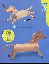 Knutselen 3d: Paard knutselen stap voor stap
