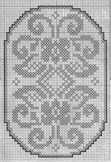 Kira scheme crochet: Scheme crochet no. Filet Crochet, Crochet Chart, Crochet Motif, Crochet Patterns, Crochet Table Runner Pattern, Crochet Tablecloth, Cross Stitch Designs, Cross Stitch Patterns, Free Swedish Weaving Patterns