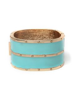 Duo Turquoise Cuff