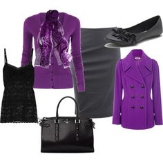 ohh lala Purple :), created by dall-alexsandira on Polyvore