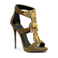 OOOK - Giuseppe Zanotti - Shoes 2014 Spring-Summer - LOOK 15 |... ❤ liked on Polyvore featuring shoes, sandals, heels, giuseppe zanotti, tacones, heeled sandals, summer sandals, giuseppe zanotti shoes and summer shoes
