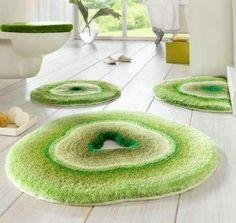 plush yarn rug