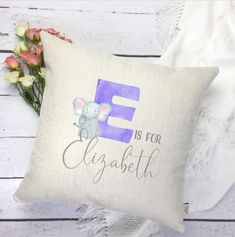 3D abc cuddly letter throw pillow personalized letter cushion kids pillow personalized kids decor personalized custom initial pillow