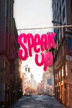 Typeverything.com - Speak Up ( and step out ) by Chris Streger (via To Resolve Project)