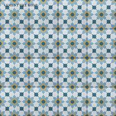 Rabat Gold Tudor Kitchen, Mosaic Bathroom, Downstairs Bathroom, Kitchen Wall Tiles, Moroccan Decor, Cement, Pattern Design, Home Improvement, Oriental