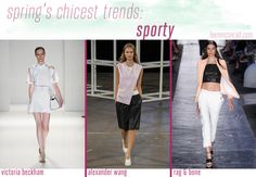 A Guide to Spring's 5 Chicest Trends - Sporty