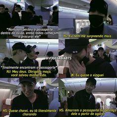 ele já perdeu o passaporte aqui no Brasil também kk Bts Memes, Meme Meme, Namjin, K Pop, Good Morning Call, Bts Imagine, I Love Bts, Just Smile, Rap Monster