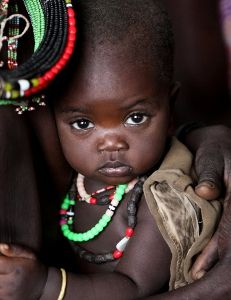 African Baby - Explore the World with Travel Nerd Nici, one Country at a Time. http://TravelNerdNici.com