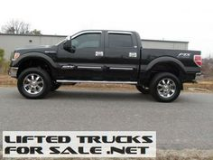 Used 2011 Ford F-150 Lariat FTX Crew Tuscany Lifted Truck