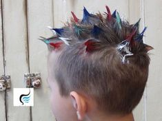 We've gathered our favorite ideas for How To Do Crazy Spiked And Mohawk Hairstyl. - We've gathered our favorite ideas for How To Do Crazy Spiked And Mohawk Hairstyle For Boys Hair, - Crazy Hair Day Boy, Crazy Hair Day At School, School Stuff, Cute Hairstyles For Kids, Hairstyles For School, Crochet Braids, Carnival Hairstyles, Wacky Hair Days, Mohawk Hairstyles