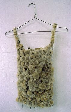 Thermal (mixed media, dandelion) by Louise Richardson