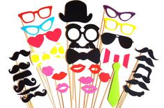 SALE  Awesome Photo Booth Props  32 piece photo by TheManicMoose, $32.00