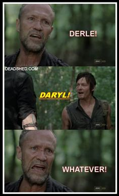 LOL Get it he's a red neck and the old guys name is merle!!!