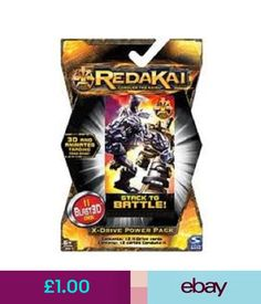 CCG Individual Cards Redakai X-Drive Power Pack Brand & Sealed #ebay #Collectibles