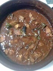 Ernakulam style Meen Curry - fish curry