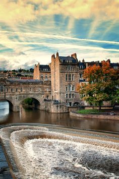 Poultney bridge, Bath, England