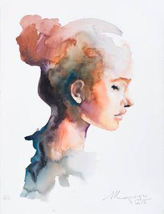 "Saatchi Art Artist Andrei Sharov; Painting, ""series profile 2"" #art"