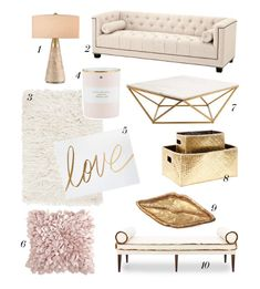 Interior design Tips Articles - Let's admit it, we all love a bit of pink in our lives now and then! How about the whole living room in powder pink color palette I personally love those colors for a room, it creates a beautiful, c Living Room Furniture, Living Room Decor, Glam Living Room, Barn Living, Living Rooms, Decoration Chic, Pink Palette, Salon Interior Design, Gold Interior