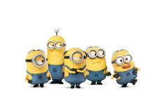 Download wallpapers minions, 4k, Despicable Me 3, funny characters, 2017 movies, 3d-animation