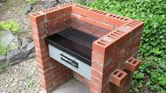Bar-Be-Quick   Build-In Grill and Bake