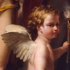 [detail] Perseus Frees Andromeda by Anton Raphael Mengs. c. 1773-1776, oil on canvas, The State Hermitage Museum