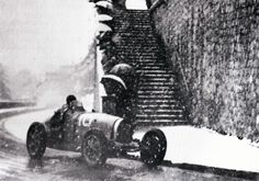 Bugatti - 2nd Grand Prix de Pau in 1933, the first inside the city, the track as it is today will be adopted for the next edition in 1935