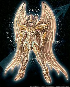 Saint Seiya Soul of Gold, Aiolos, Sagitarius. Manga Anime, Anime Art, Creature Picture, Lego Knights, Character Wallpaper, Anime Japan, Sci Fi Characters, Japan Art, Knight