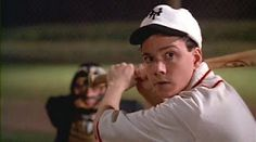 Field of Dreams: Just noticed that young Doc Graham hits a sacrifice fly in his only 'big league' at-bat just moments before saving little girl's life. In doing so Doc sacrifices his ability to ever play ball again. Me: mind blown. Baseball Lineup, Baseball Movies, High And Tight, Field Of Dreams, Music Tv, Girls Life, Latest Movies, Archie, Mind Blown