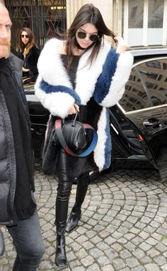 Kendall Jenner from The Big Picture: Today's Hot Pics  The top model is stylish and chic while out in Paris during fashion week.
