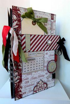 Scrapfest 2012 - Teresa Collins - Christmas Cottage Mini Album, via Flickr.