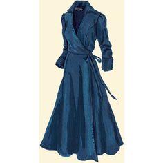 Denim Wrap Dress - Google Search