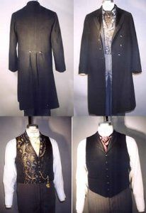 Sew your own Steampunk - Coats Single and Double Breasted & Two Vests Pattern (1850 - 1915)