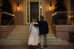 ann whittington events elegant rehearsal dinner southern style country club houston country club walking up steps