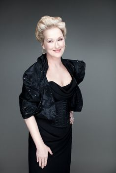 Meryl Streep photographed by Ian Derry